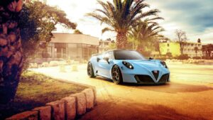 Fast Cars HD Background 4